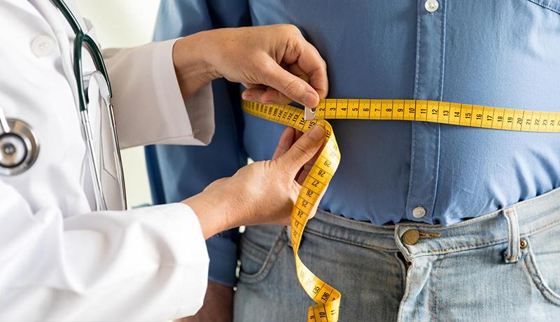 اضافه وزن چاقی