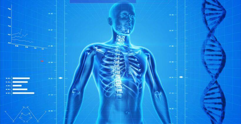 آنالیز بدن اسکن سهبعدی