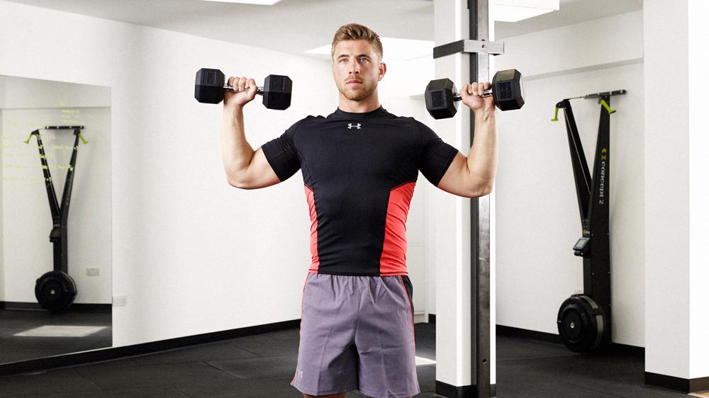 تمرین با وزنه در باشگاه