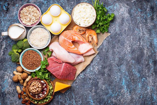 پروتئیین برای افزایش وزن